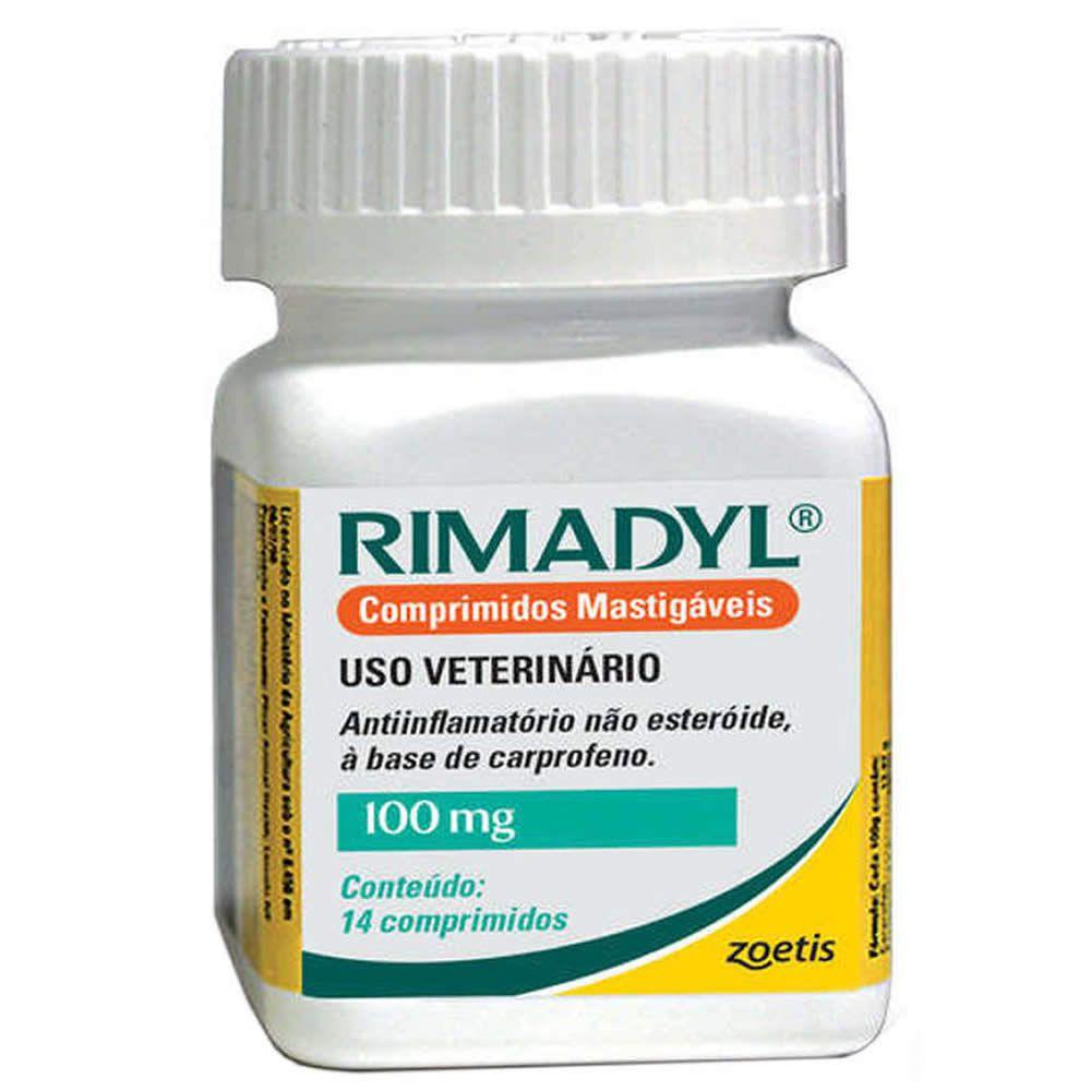 Rimadyl 100mg Comprimidos  - Brasília Pet