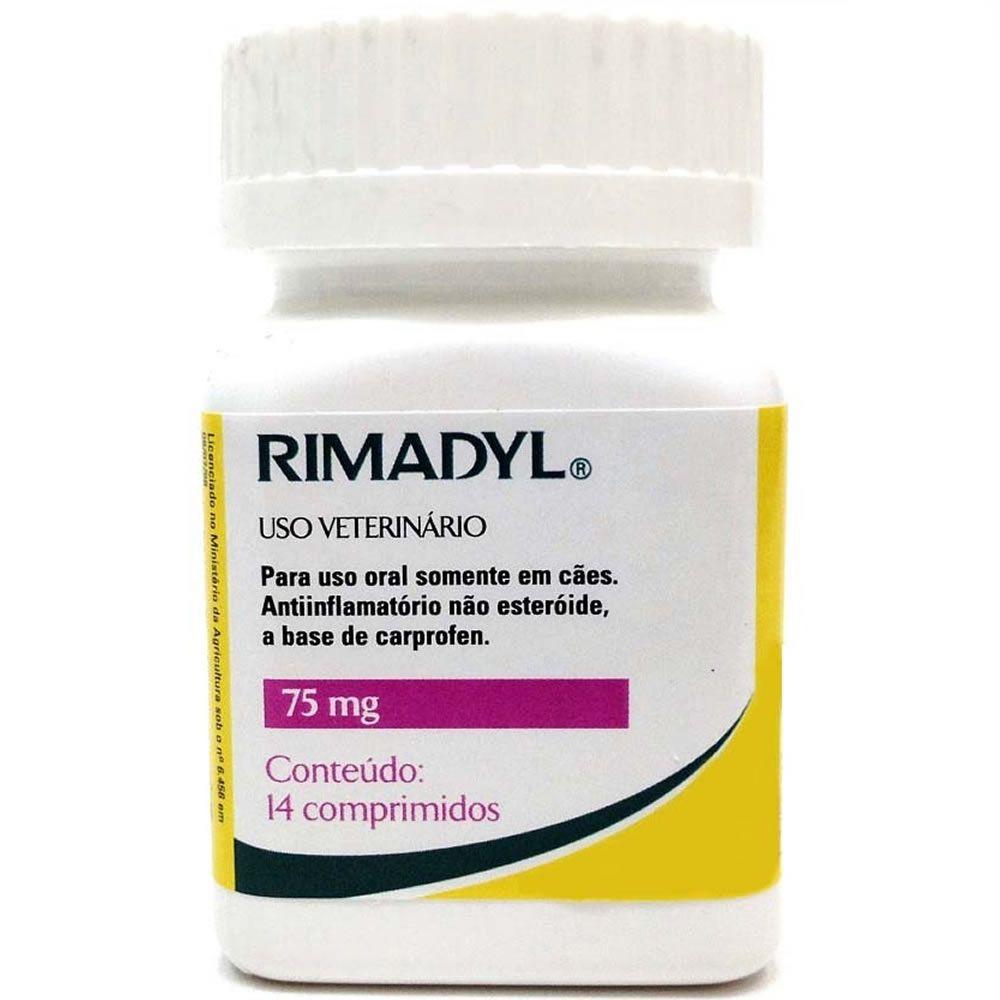 Rimadyl 75mg Comprimidos  - Brasília Pet