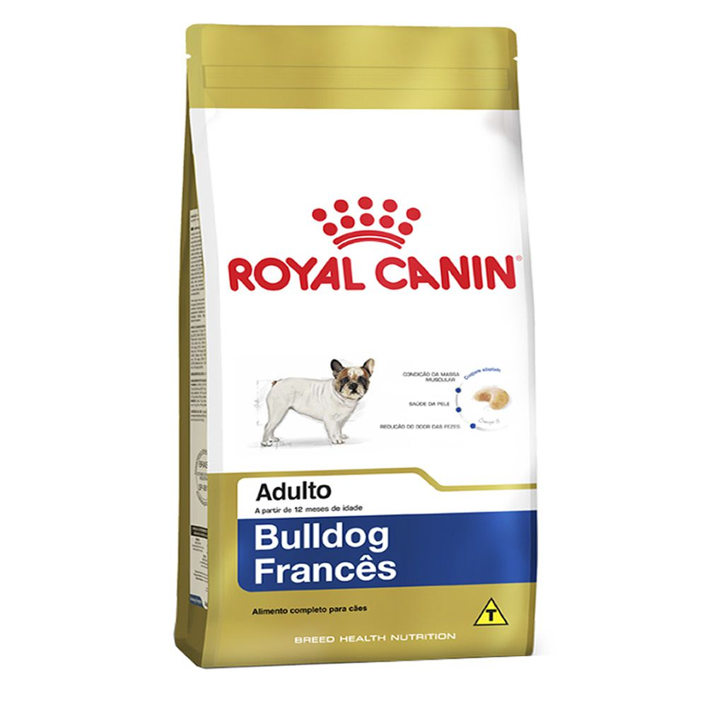 Royal Canin Bulldog Francês Adult  - Brasília Pet
