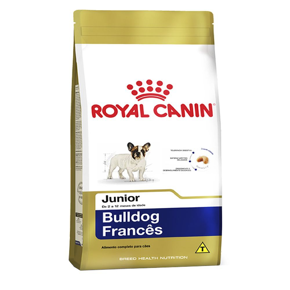 Royal Canin Bulldog Francês Junior  - Brasília Pet