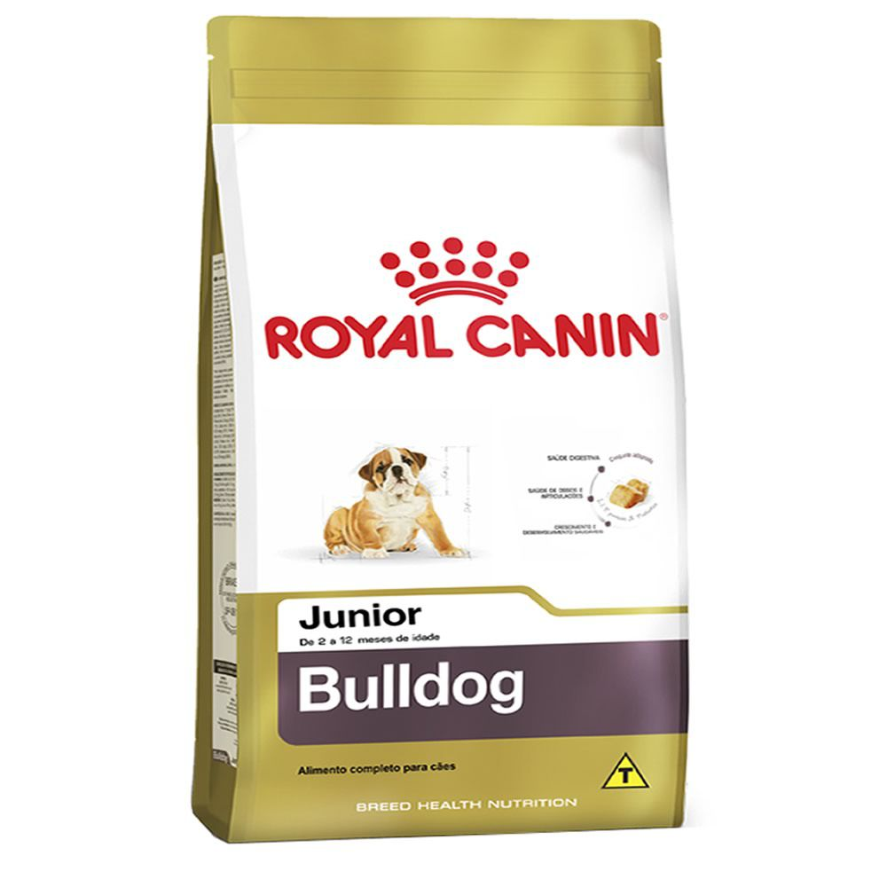 Royal Canin Bulldog Junior  - Brasília Pet