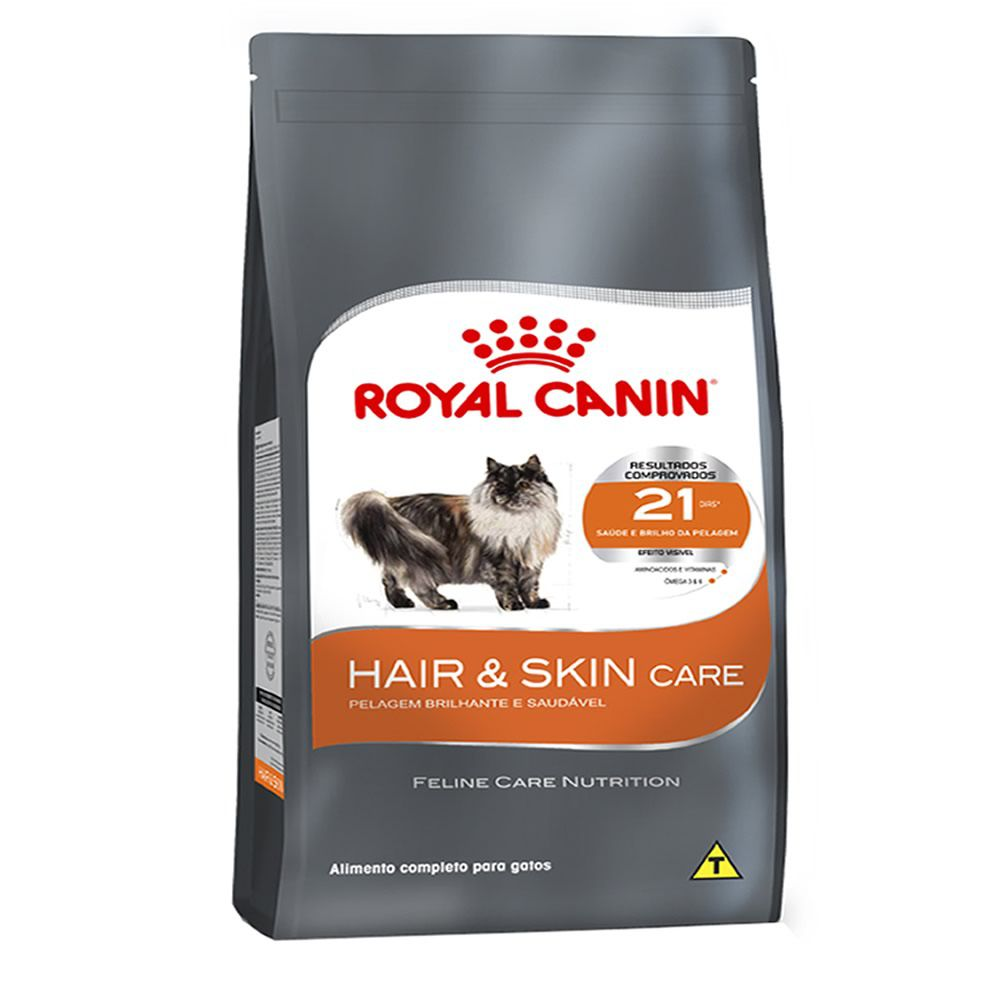 Royal Canin Cat Hair & Skin  - Brasília Pet