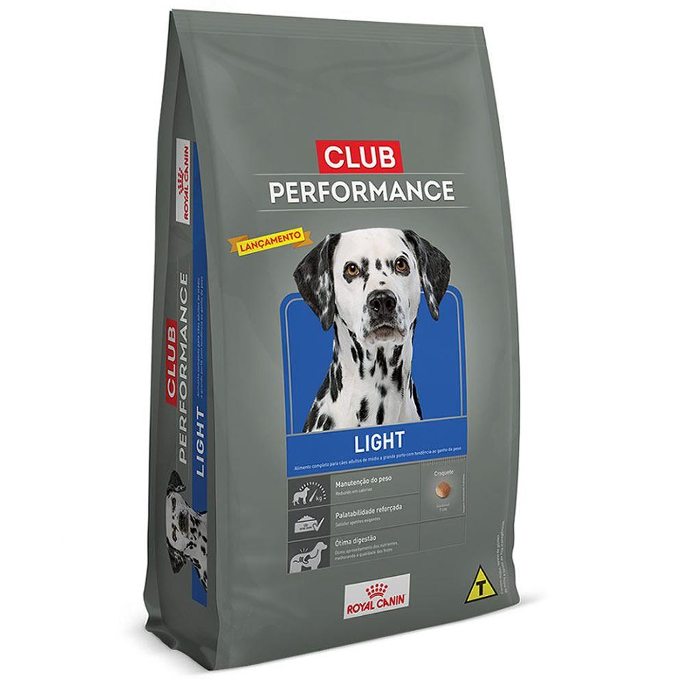 Royal Canin Club Performance Light  - Brasília Pet