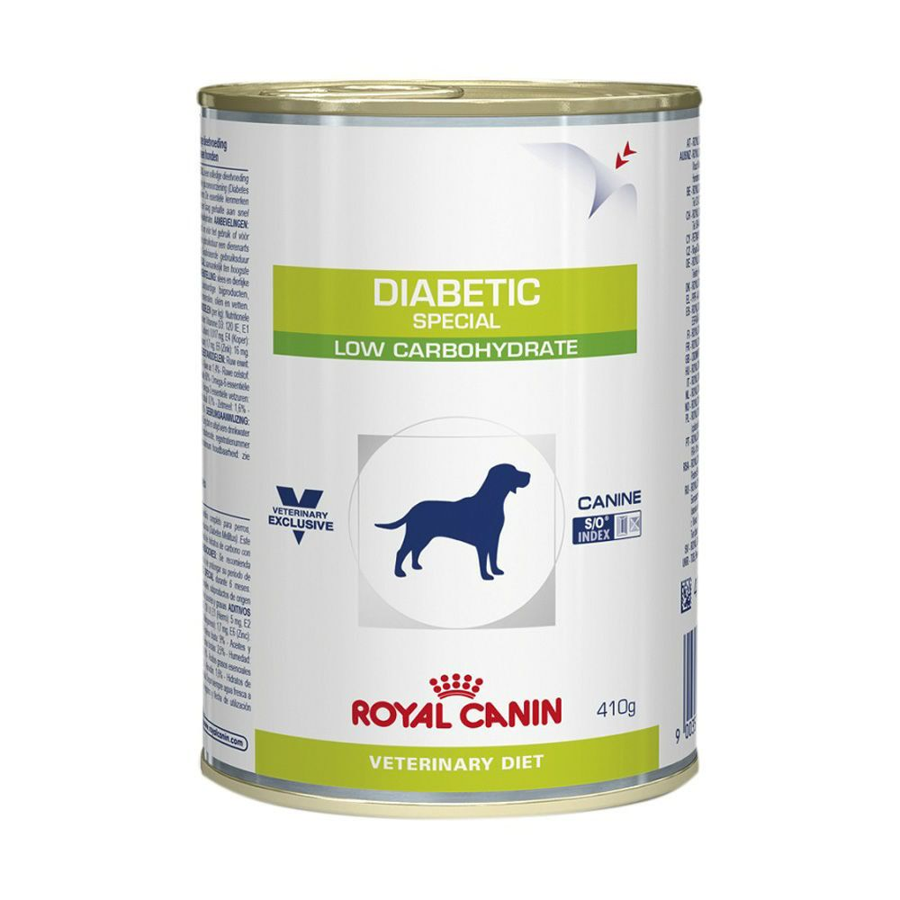 Royal Canin Diabetic Lata 410g  - Brasília Pet