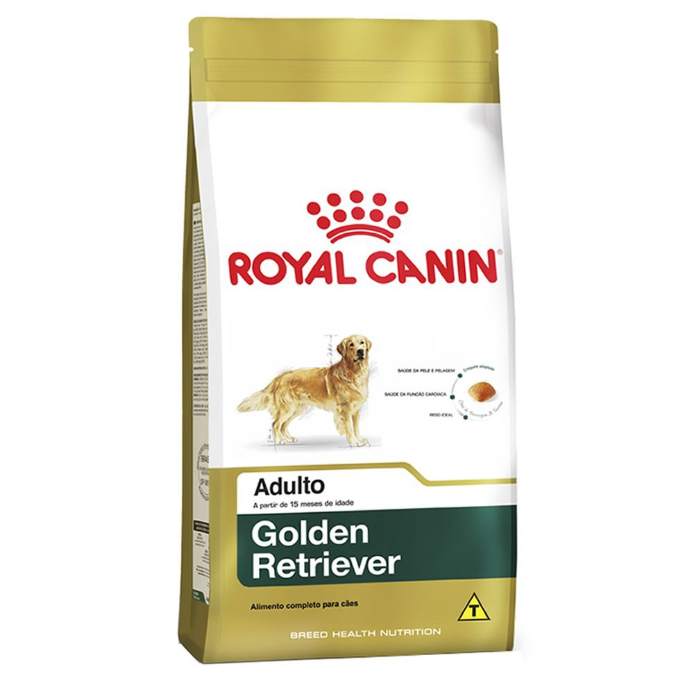 Royal Canin Golden Retriever Adult  - Brasília Pet