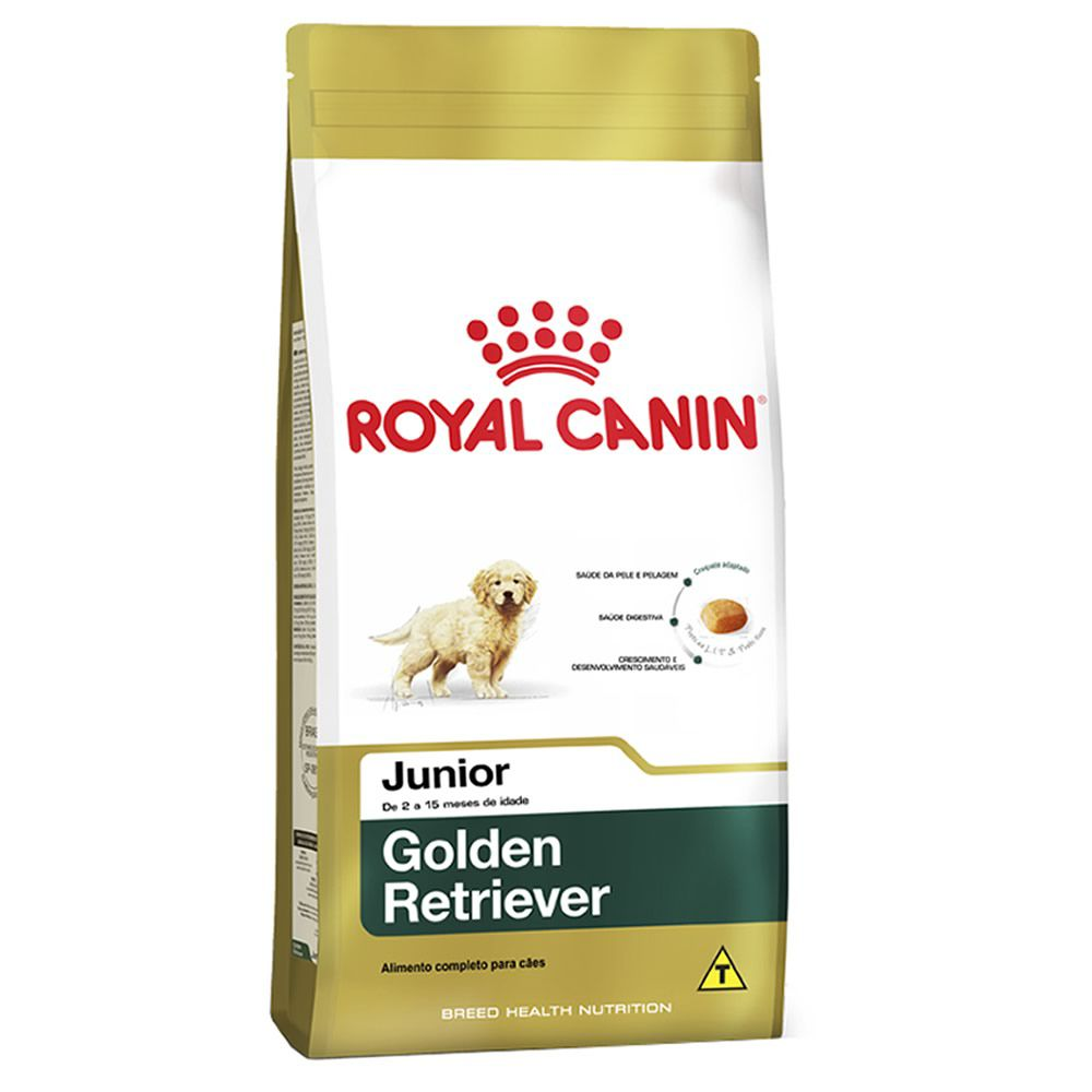 Royal Canin Golden Retriever Junior  - Brasília Pet