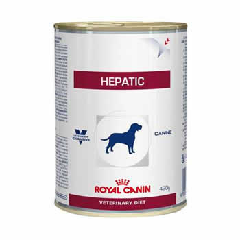 Royal Canin Hepatic Lata 420g  - Brasília Pet