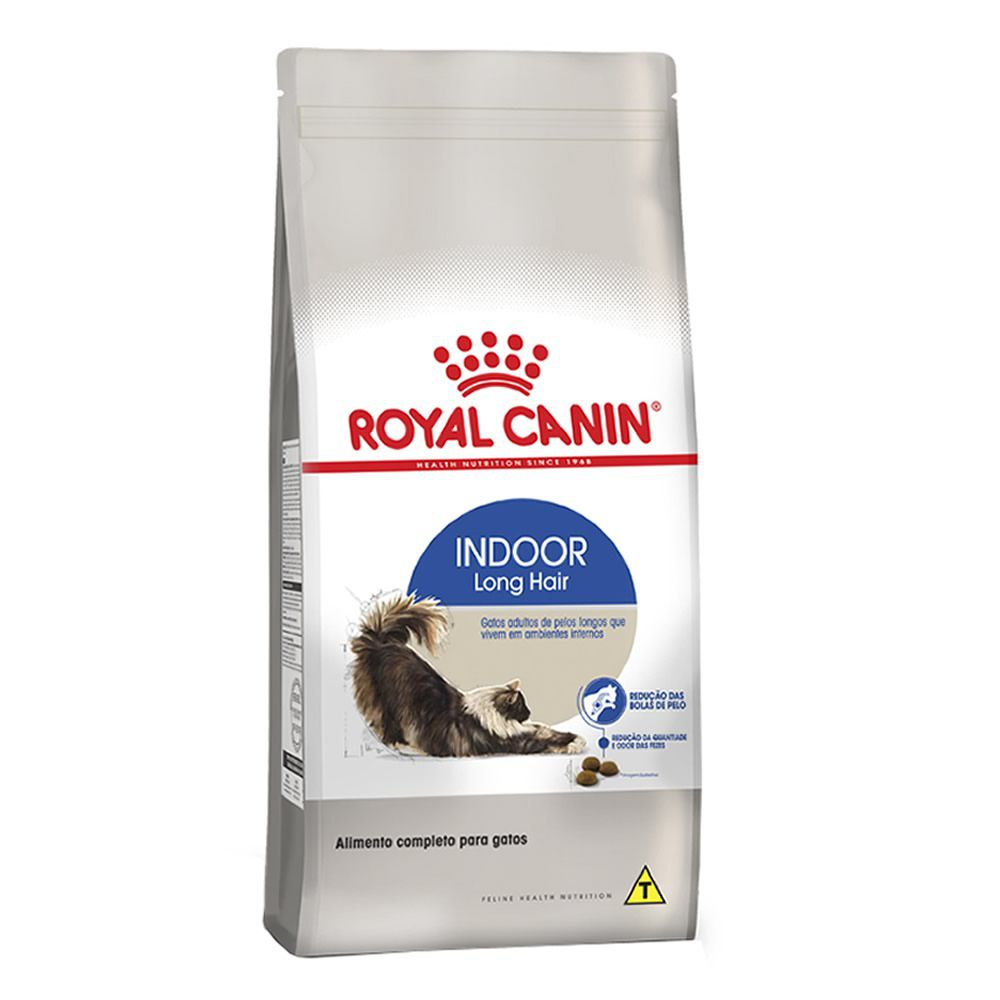 Royal Canin Indoor Long Hair  - Brasília Pet