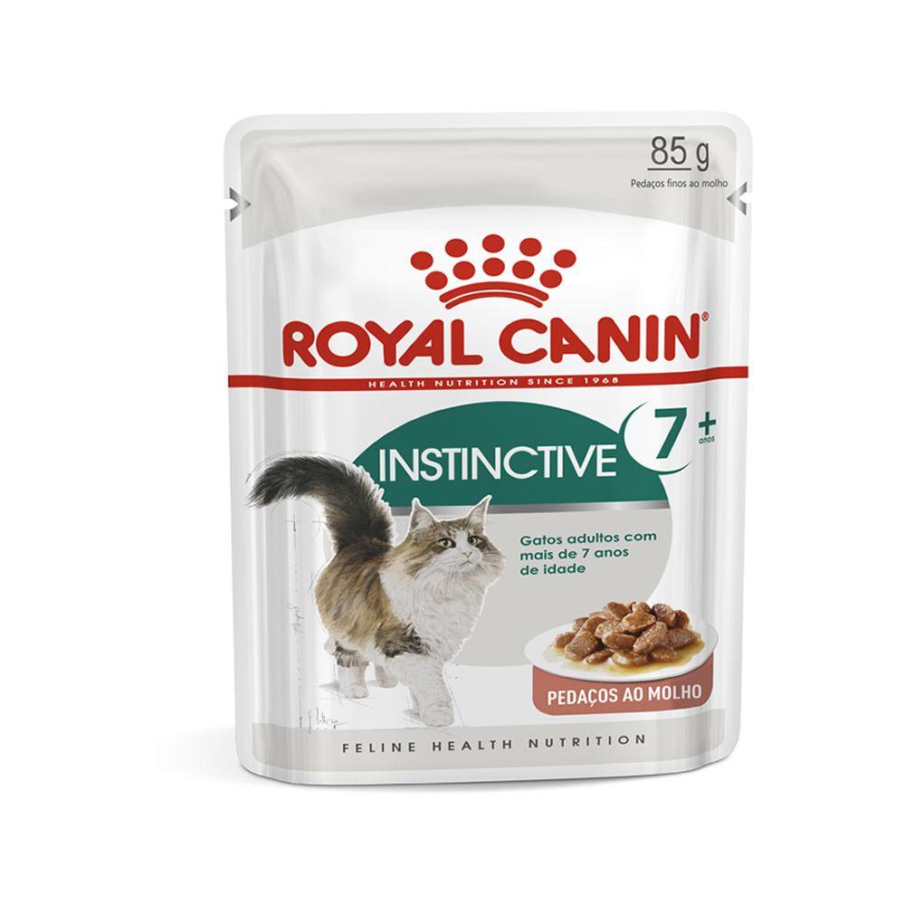 Royal Canin Instinctive 7+ Sachê 85g  - Brasília Pet