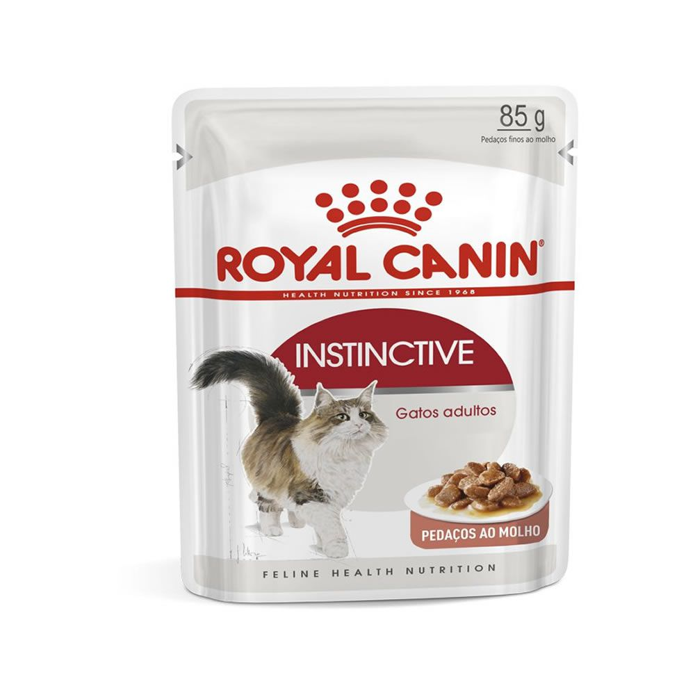 Royal Canin Instinctive Sachê 85g  - Brasília Pet