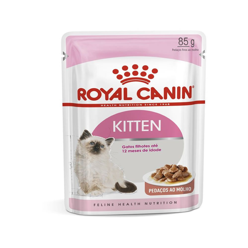 Royal Canin kitten Instinctive Sachê 85g  - Brasília Pet