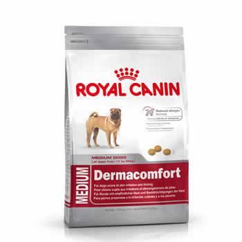 Royal Canin Medium Dermacomfort  - Brasília Pet