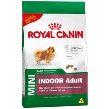 Royal Canin Mini Indoor Adult  - Brasília Pet