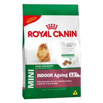 Royal Canin Mini Indoor Ageing 12+  - Brasília Pet