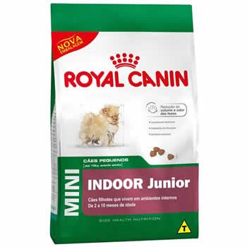 Royal Canin Mini Indoor Junior  - Brasília Pet