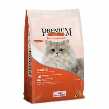 Royal Canin Premium Cat Beleza da Pelagem Adultos  - Brasília Pet