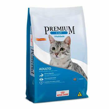 Royal Canin Premium Cat Vitalidade Adultos  - Brasília Pet