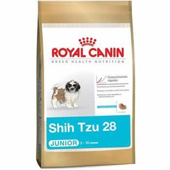 Royal Canin Shih Tzu Junior  - Brasília Pet