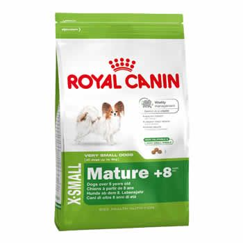 Royal Canin X-Small Adult 8+  - Brasília Pet