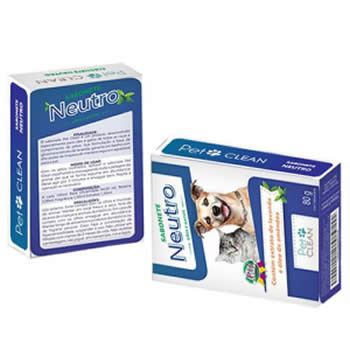 Sabonete Neutro Pet Clean 80g - Duplicado  - Brasília Pet