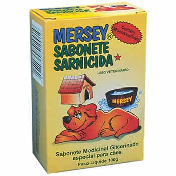 Sabonete Sarnicida Mersey 100G  - Brasília Pet