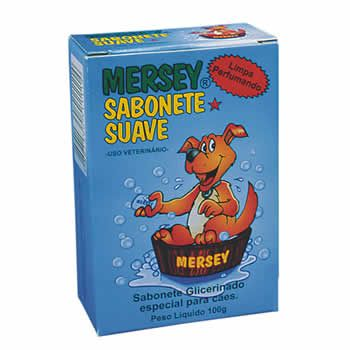 Sabonete Suave Mersey 100G  - Brasília Pet