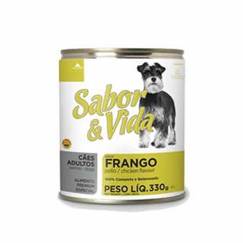 Sabor & Vida Adultos Frango Lata 280 Gr  - Brasília Pet