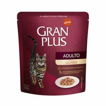 Sachê GranPlus Gatos Adultos Salmão 50 Gr  - Brasília Pet