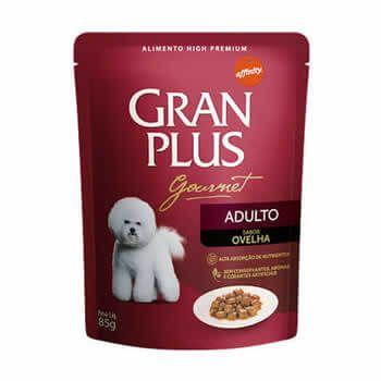 Sachê GranPlus Gourmet Adultos Ovelha 85 Gr  - Brasília Pet