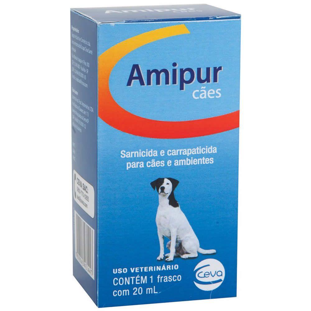 Sarnicida Amipur Cães Ceva 20ml  - Brasília Pet
