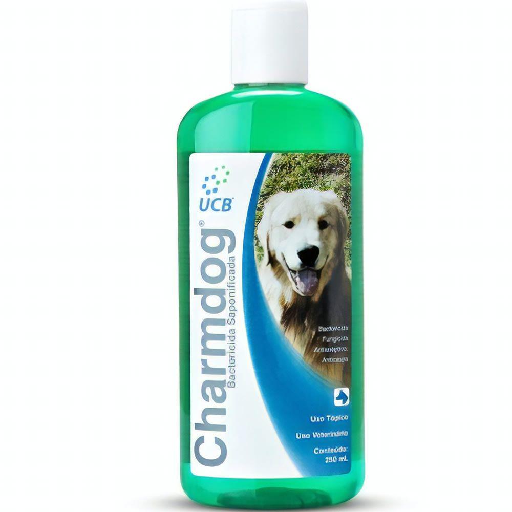 Shampoo Bacterecida Saponificado Charmdog 250ml  - Brasília Pet