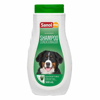 Shampoo Condicionador Sanol Dog 500ml  - Brasília Pet