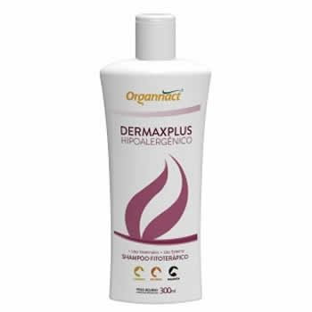 Shampoo Dermaxplus Hipoalergênico Organnact 300ml  - Brasília Pet