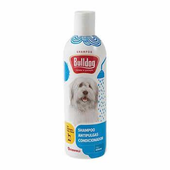Shampoo e Condicionador Antipulgas Bulldog 500ml  - Brasília Pet