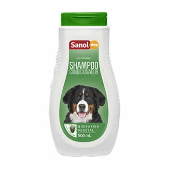 Shampoo Grande Porte 2 em 1 Sanol Dog 500ml  - Brasília Pet