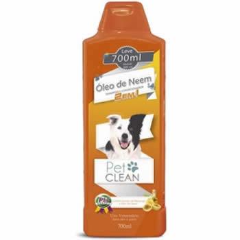Shampoo Neen 2 em 1 Pet Clean 700ml  - Brasília Pet
