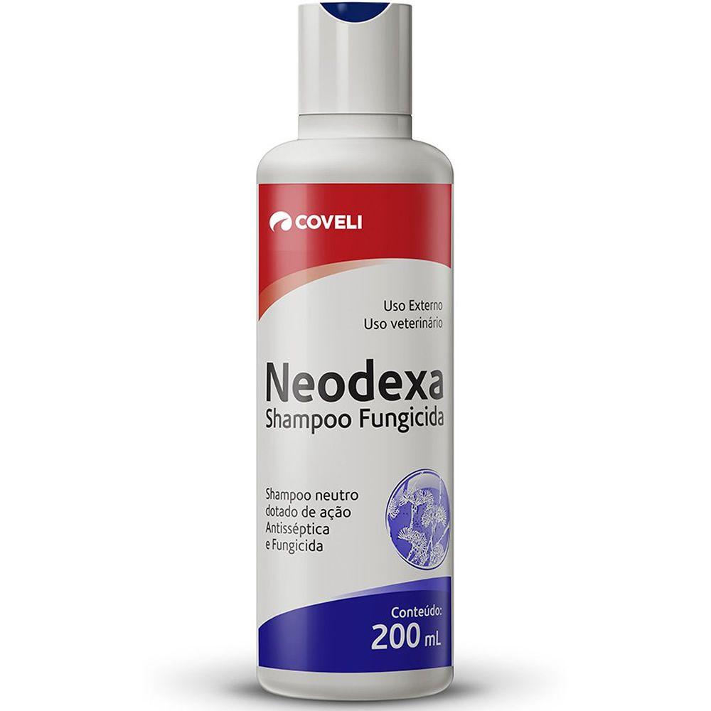 Shampoo Neodexa Fungicida e Assisséptica 200ml  - Brasília Pet