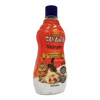 Shampoo Neutralizador de Odores Savana 525ml  - Brasília Pet