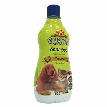 Shampoo Neutro Savana 525ml  - Brasília Pet