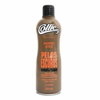 Shampoo Pêlos Escuros Collie 500ml  - Brasília Pet