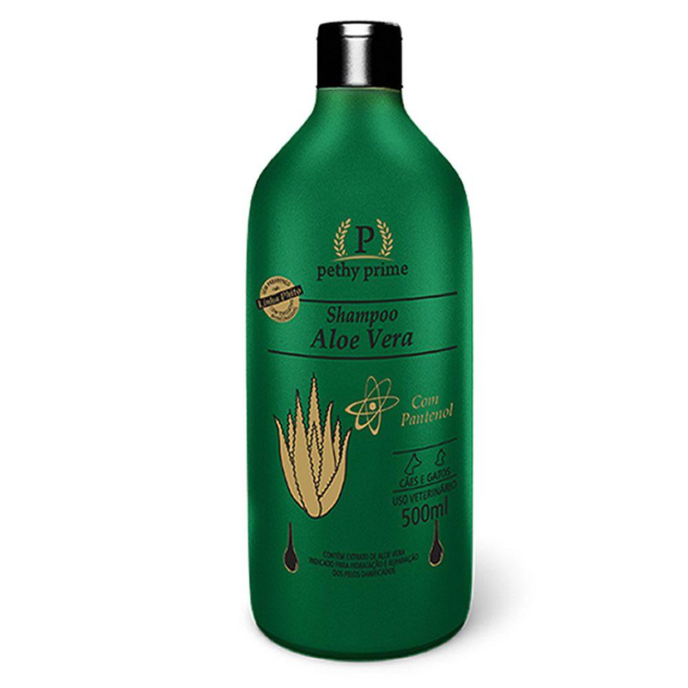 Shampoo Pethy Prime Aloe Vera  - Brasília Pet