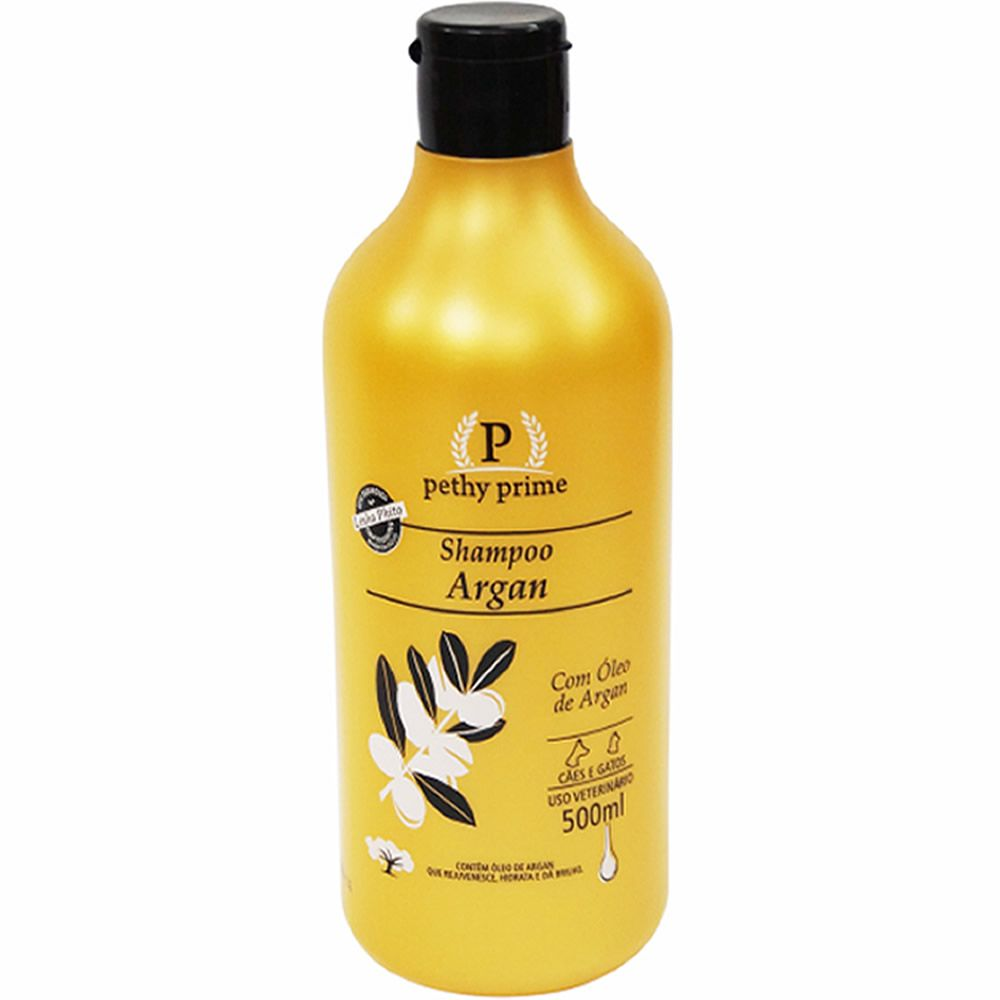 Shampoo Pethy Prime Argan  - Brasília Pet