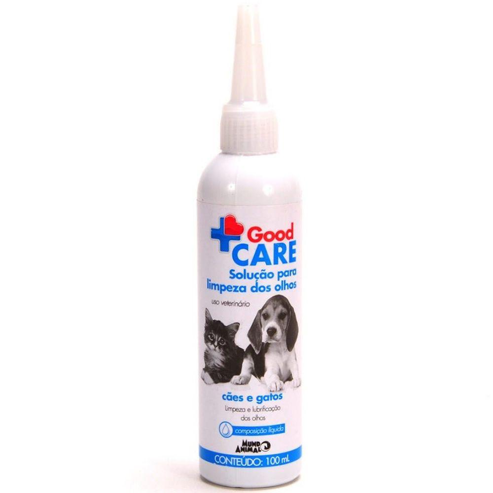 Solução Limpeza dos Olhos Good Care 100ml  - Brasília Pet