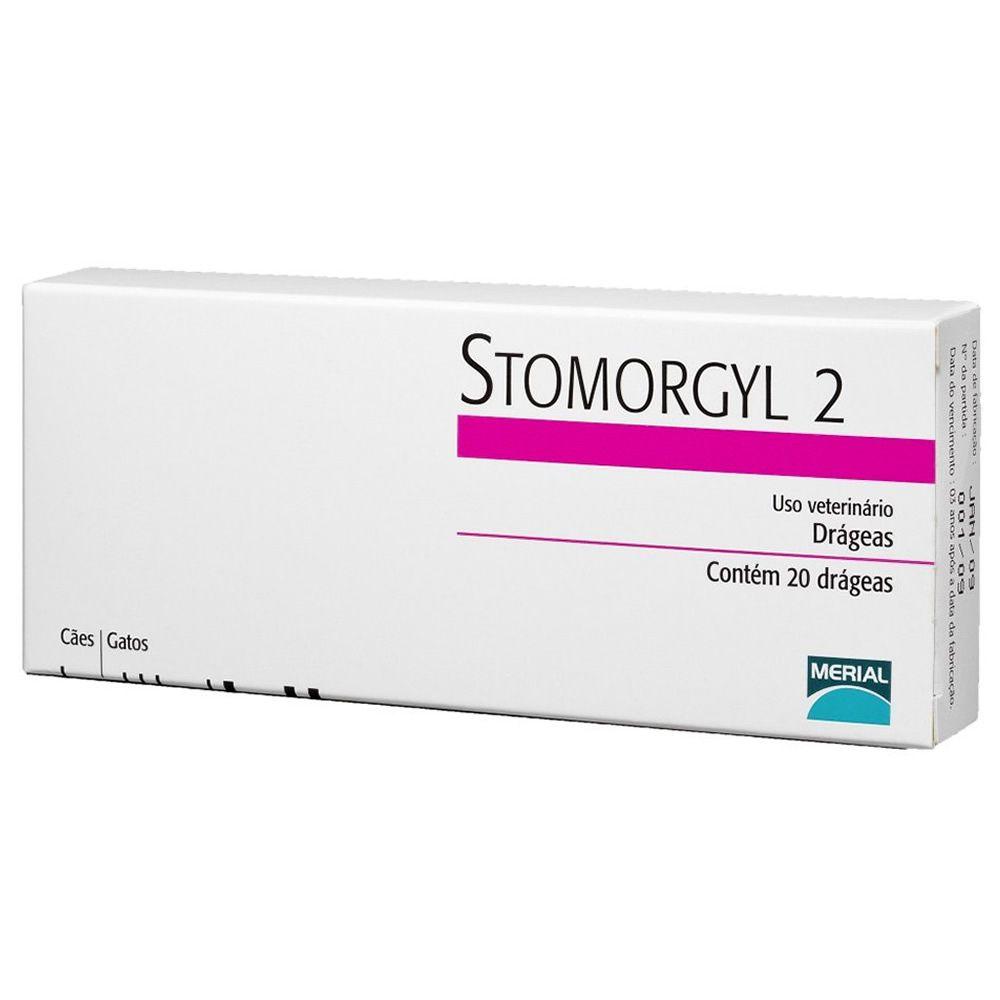 Stomorgyl 2 20 Comprimidos  - Brasília Pet