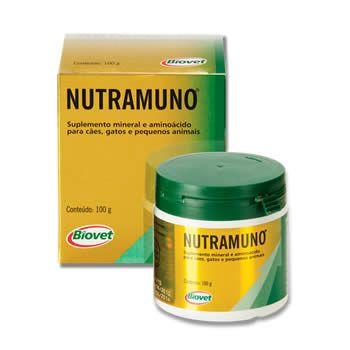 Suplemento Nutramuno 100g Biovet   - Brasília Pet