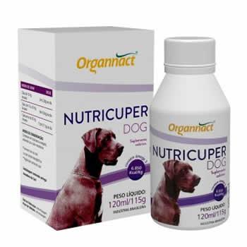 Suplemento Nutricuper Dog Organnact 120ml  - Brasília Pet