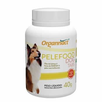 Suplemento Pelefood Dog Tabs Organnact 20 Comprimidos  - Brasília Pet
