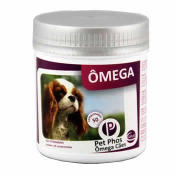 Suplemento Pet-Phos Ômega Cães 50 Comprimidos  - Brasília Pet