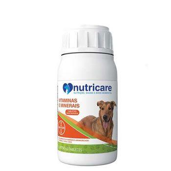 Suplemento Vitaminas e Minerais Nutricare 60 Comprimidos  - Brasília Pet
