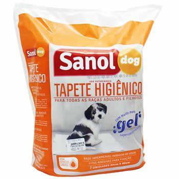 Tapete Higiênico Sanol  - Brasília Pet
